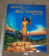 """Island of the Blue Dolphins Scott O'Delli 17"""" x 22"""" POSTER Lightly used  #428"""