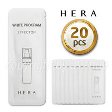 [HERA] White Program Effector  1ml x 20pcs Amore  Whitening Essence