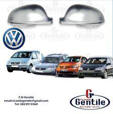 VW GOLF 5 DAL 2003 CALOTTE CROMATE PER SPECCHI RETROVISORI DESTRO + SINISTRO