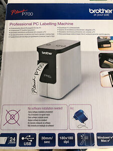 Brother P-touch P700 Professional PC Labelling Machine Printer