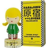 Harajuku Lovers Wicked Style G Perfume by Gwen Stefani 1.0 oz EDT Spray NIB