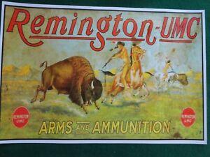 Remington-UMC Advertising Poster Arms & Ammunition