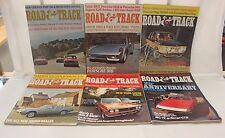 COMPLETE ROAD & TRACK MAGAZINE JANUARY-DECEMBER 1972 (OAK9677-1 #1896 LOC.GLEN)