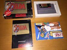 The Legend Of Zelda a Link To The Past Super Nintendo Snes Completo