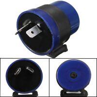 12V 2 Broches Relais Centrale Flash Turn Signal Clignotant Alarme LED Bleu Moto