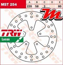 Disque de frein Avant TRW Lucas MST 254 pour Gilera FX 50 Runner SP C14 1997-05