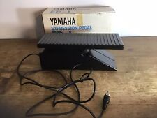 Vintage Yamaha Expression Pedal EP-1 Made In Nippon Japan RCA Connect W Box