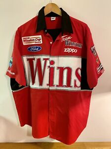 Race Used Jimmy Spencer WINSTON CUP PIT CREW UNIFORM SHIRT & PANTS #23 No Bull