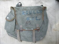 RARE MUSETTE INDOCHINE FABRIQUEE SUR LE TYPE M36 US ARMY