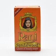Rani Sandalwood Body Soap 90g Pack Premium sandalwood Beauty Soap -Free Shipping