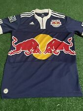 New York Red Bulls 2009/11 Blue Adidas Soccer Jersey Size M