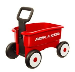 Radio Flyer My 1st 2-in-1 Wagon Ride - Red