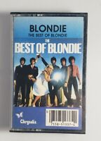 BLONDIE The Best Of GREATEST HITS 1981 Rock Cassette Tape CALL ME HEART OF GLASS