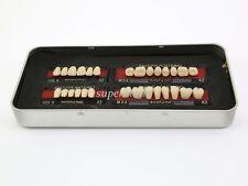1 box/set new Dental False Tooth Teeth Denture M32 size A2 color 28-pcs Teeth