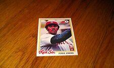 1978 Vintage BASEBALL CARD Boston Red Sox FERGIE JENKINS Topps Sports Trading