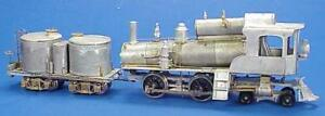 HO BRASS WISEMAN BACK SHOP HBS154 ARTICULATED STEAM LOCOMOTIVE LARGE PIPING