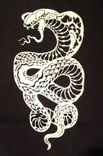 Snake mylar reusable stencil 10 mils  for Airbrush design art & craft