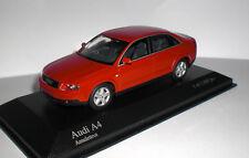 - Minichamps - AUDI A4 Limousine 2000 - rot - 1:43 - Auflage: 1.008 Stk. - NEU