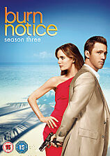 Burn Notice Complete Series 3 DVD All Episodes Third Season Original UK NEW R2
