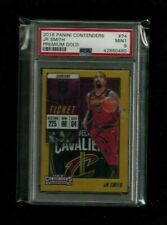 J.R. Smith 2018-19 Contenders GOLD PRIZM REFRACTOR #/10! PSA 9 MINT! Cavaliers!