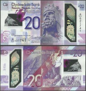 Scotland Clydesdale 20 Pounds 2020 Polymer/Rober Bruce W/LT,W/LBPre