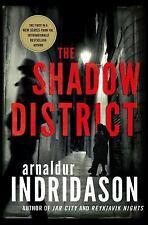 Indridason Arnaldur-The Shadow District  BOOK NEW