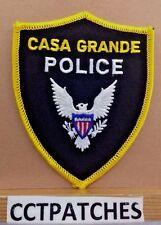 CASA GRANDE, ARIZONA POLICE SHOULDER PATCH AZ