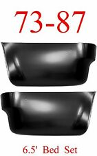 6.5 Foot 73 87 91 Chevy Rear Lower Panel Set, Quarter, GMC Truck, Blazer & Jimmy