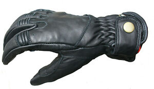 Women Motorcycle Motorbike Padded Protection Cruiser riding leather gloves