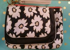NEW Fossil Cosmetics Bag Makeup Pouch Ivy Floral Bags Zip Organizer SWL1327124