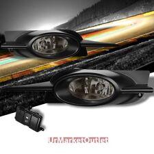Smoke Len OE Fog Light Lamp w/Bezel+Bulb+Switch For 09-11 Civic 2DR Coupe FG1/2