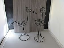 """SALE!!  Set of 2 wire Storks for Baby Shower Decorations  - 8"""" Tall"""