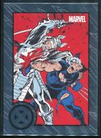 2013 Marvel Greatest Battles Trading Card #42 Wolverine vs. Silver Samurai