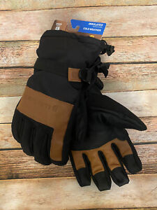 Carhartt Mens Vintage Cold Snap Insulated Work Glove Black/Barley Large NWT New