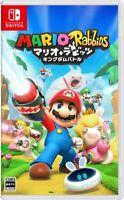Nintendo Switch Mario + Rabbids Kingdom Battle Japan F/S