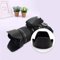 80C0 Flower Petal Screw-On Lens Hood Shade For Nikon D3300 D5500 18-55mm DSLR Ca