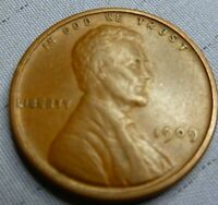 1909 vdb Lincoln Cent  Coin  #H-09-1 Better Grade
