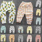 Baby Boy Girl Trousers Bottom Toddler Kid Cotton Leggings Long Swear Harem Pants