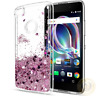 For Alcatel Tetra / 1X Evolve Case Liquid Glitter Quicksand Clear Soft TPU Cover