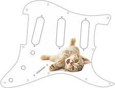 Stratocaster Strat Pickguard Custom Fender SSS 11 Hole Guitar Pick Guard Kitten