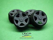 1/24 wheels 17 inch VW Canyon (Touareg) w stance tires Tamiya Aoshima Hasegawa