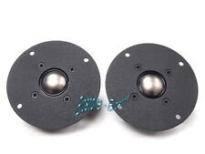AUDAX 25mm Titanium Dome Tweeters Pair TW025A8 - Made in France