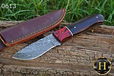 Custom Handmade Damascus Steel Skinner Knife Survival Knife Camping Knife EDC