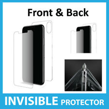 Apple iPhone X Screen Protector Invisible FRONT and BACK Shield - Military Grade