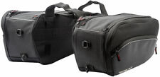 Fly Street Expandable Textile Motorcycle Saddle Bags