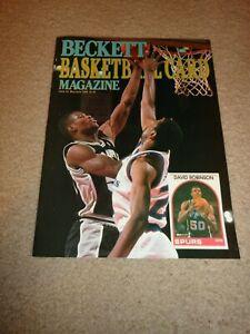 Beckett Basketball Magazine Issue #2, David Robinson May 1990