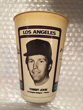 1978 Tommy John - Yankees - Dodgers 7-11 Cup Vintage Icee Slurpee coke toy