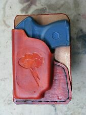 Right Pocket Holster for Ruger LCP with LG-431 or, Lasermax.
