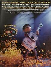 Disney COCO Miguel Guitar Scene For Your Consideration Oscar Ad