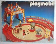 PLAYMOBIL cirque circus clown fauve lion éléphant en boite 3553 jouet vintage